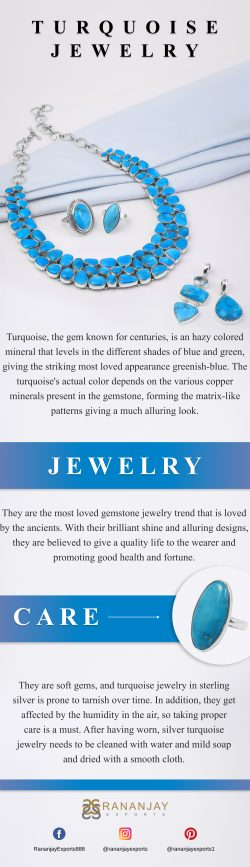 Wholesale Turquoise jewelry and care