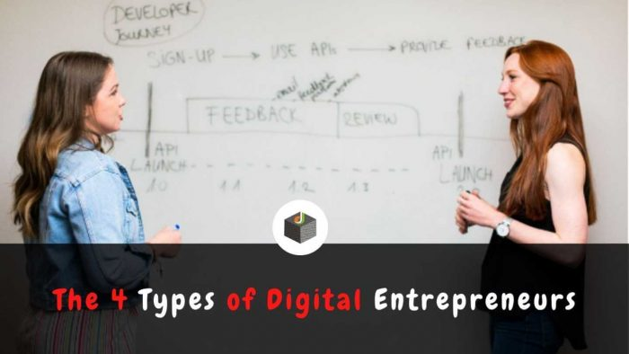 Let's know the Types of Digital Entrepreneurs