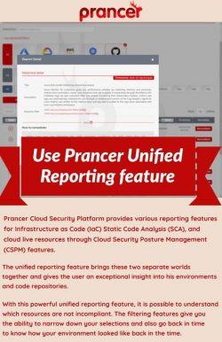 Unified Reporting feature
