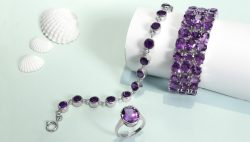 Wholesale Amethyst Jewelry Collection For Womens | Rananjay Exprorts