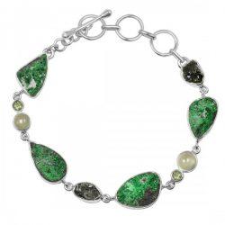 Genuine Green Uvarovite Jewelry at Manufacture price.
