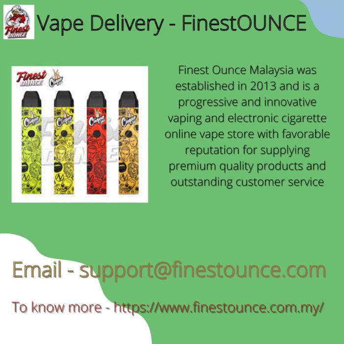 Vape Delivery – FinestOunce
