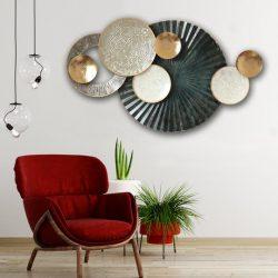 Shop Lavish Designer Metal Wall Art