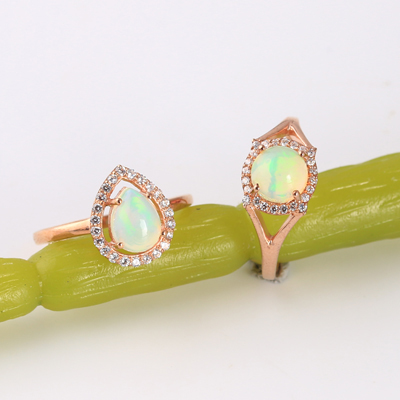 Wholesale Handmade Opal Jewelry Collection.