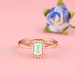 Buy Real Golden Opal Ring at Manufacturer Price.