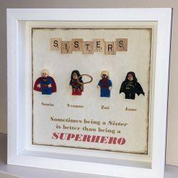 Personalised Lego Frame