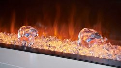 Modern Electric Fireplace Suites