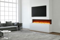 Electric Fire for Media Wall