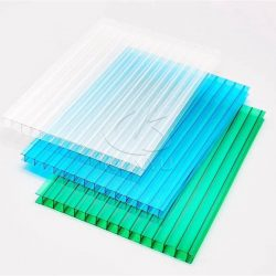 Polycarbonate Sheet Greenhouse Panels Clear Multi-wall Cover Material