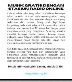 Pengantar Stasiun Radio Internet
