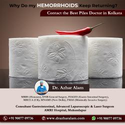 Piles Doctor in Kolkata | Best Treatment for Piles | Dr. Azhar Alam