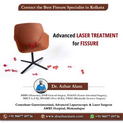 Fissure Doctor in Kolkata | Best Treatment for Fissure | Dr. Azhar Alam