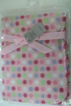 Super Soft Fleece Pink Blanket For New Born Baby