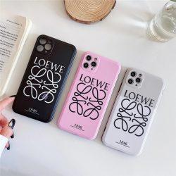 ロエベ iPhone13 Proケース LOEWEロゴプリント iPhone12 Proケース かわいい iPhone11 Proケース Loewe ...