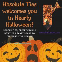Absolute Ties welcomes you to Hearty Halloween!