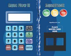 AquaFlow II Prepaid RFID Card System