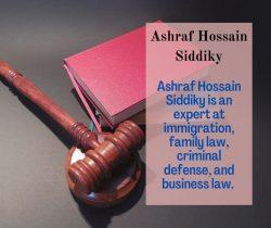 Ashraf Hossain Siddiky the Best Lawyer in Bangladesh