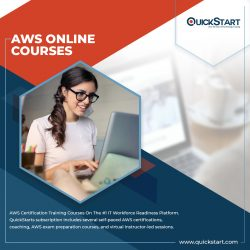 Available now AWS online courses – QuickStart
