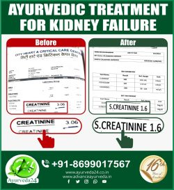 Another Success Story of 🍀🍀🍀🍀 Ayurvedic treatment for kidney failure. Many More to Come