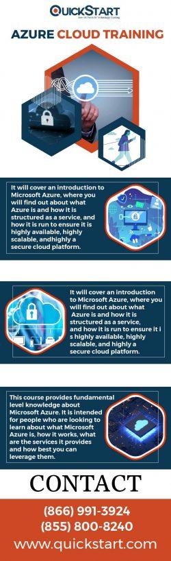 Microsoft Azure Cloud Training – QuickStart