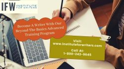 Become A Writer With Our Beyond The Basics Advanced Training Program
