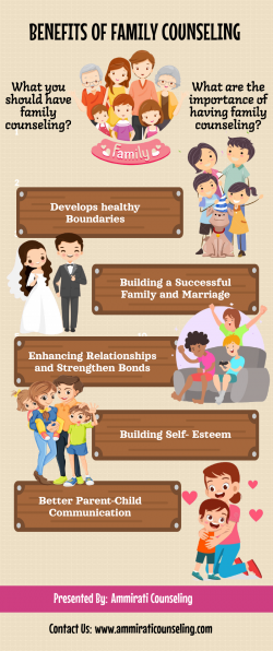 What are the benefits of Family Counseling?