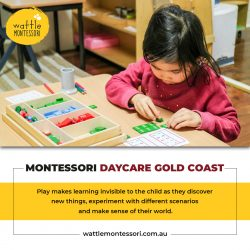 Best Montessori Daycare Gold Coast – Wattle Montessori