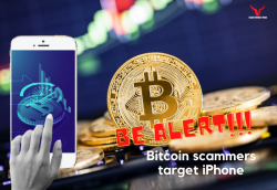 Bitcoin Scammers Target iPhone: New Scam Shakes The Crypto Space