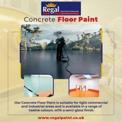 Concrete Floor Paint For Sale At RegalPaint