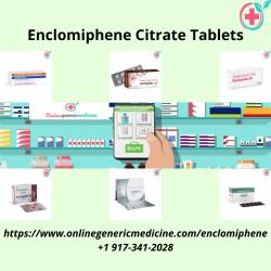 Buy Enclomiphene Citrate Tablets | Enclomiphene Citrate Medicine | onlinegenericmedicine.com