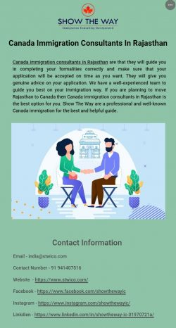 Key Benefits of Hiring Canada Immigration Consultants in Rajasthan