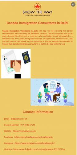Skillful Canada Immigration Consultants in Delhi