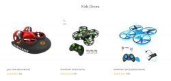 Kids drones in USA