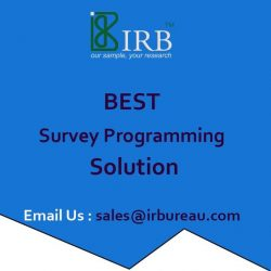 Best Survey Programming Services in India | Market Research | IRBureau