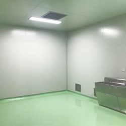 The material of cleanroom walls