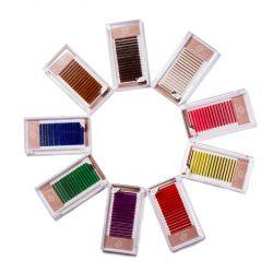 Three benefits of color eyelashes