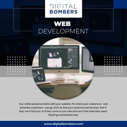 Connect with the Best Web Development Company – Digital Bombers