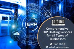 Contact Pathway Communications for Secure ERP Cloud Hosting solutions.