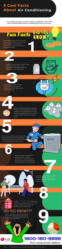9 cool Facts About Air Conditioning