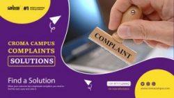 Croma Campus Complaints & Solutions