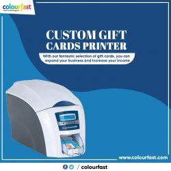 Custom Gift Cards Printer