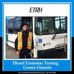 Best diesel emissions testing center in Ontario