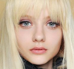 What are the doll eyelash extensions?