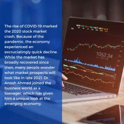 Dr. Anosh Ahmed on Stock Market Crash due to Covid-19