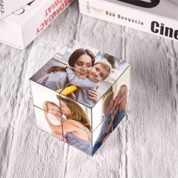 Custom Photo Rubik's Cube For Kids DIY Multiphoto Cube 3 Sets of Sticker