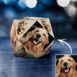 Custom Photo Personalized Rubik's Cube Rhombic for Pets