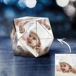Personalized Photo Rubik's Cube Rhombic Baby Gifts