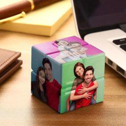 Custom Photo Rubik's Cube For Lover Multiphoto Colorful Infinite Cube