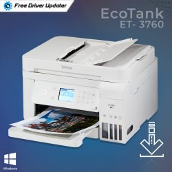 Epson EcoTank ET-3760 Driver Download, Install and Update for Windows PC