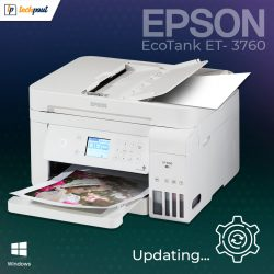 Epson EcoTank ET-3760 Driver Download, Install, and Update for Windows PC
